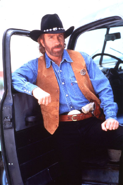 That man: Chuck Fucking Norris.