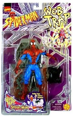 """Cracking His Back Spider-Man"" might not have sold so well, so they packed in a really cool accessory"