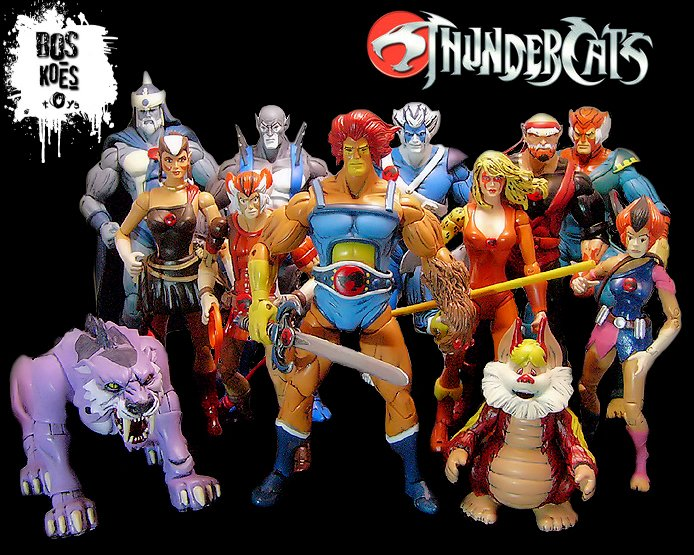 Thunder... Thunder... ThunderCats...H-OH MY GOD these look amazing!