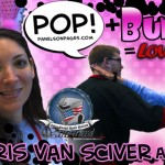 PoP! + Bunny = Love:  Sharis Van Sciver at C2E2