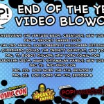 PoP! Interviews Venture Bros. Creators Jackson Publick and Doc Hammer!  NYCC!