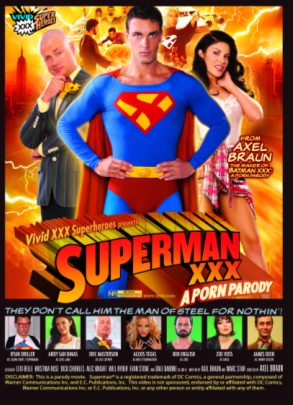 Superman XXX: a Porn Parody is the first release to officially wear ...