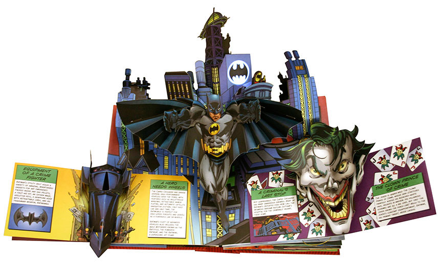 DC Super Heroes: The Ultimate Pop-Up Book DC Comics and Matthew Reinhart
