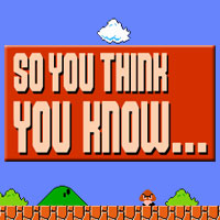 So You Think You Know…  Episode 99: Insert Random Episode Title Here