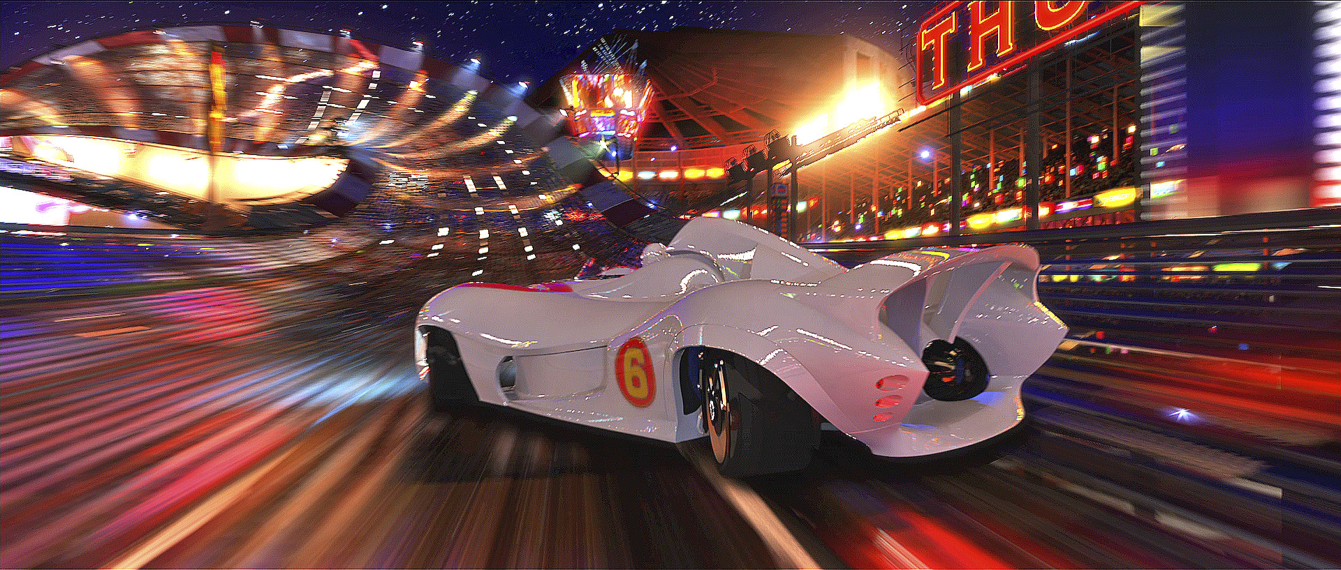 Speed Racer movies in Australia