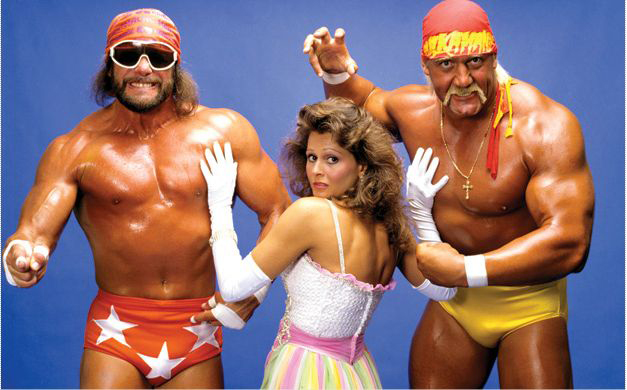 hulk hogan, randy macho man savage, miss elizabeth, mega powers, WWF