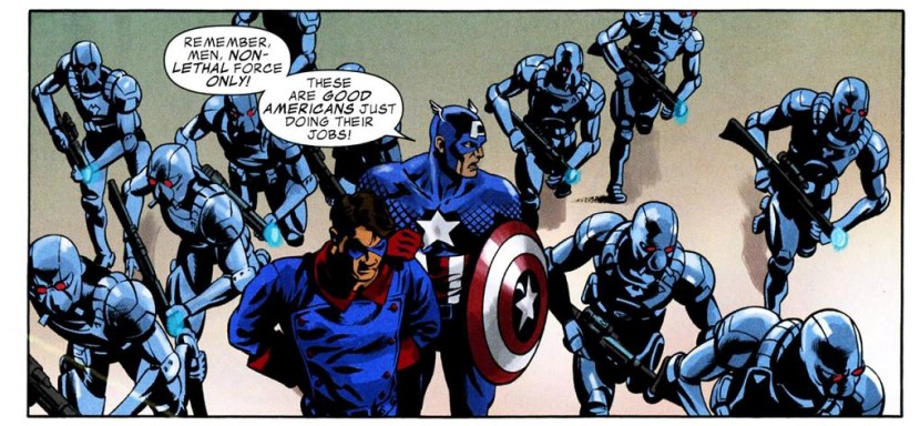 PoP! Top 6-Pack: The Other Captain Americas : Panels on Pages