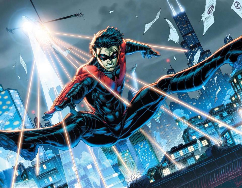 Nightwing-New-52-costume jpgDick Grayson New 52 Nightwing