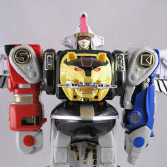 Figure 8 - The Season 3 Zords