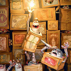 "Review - ""The Boxtrolls"""